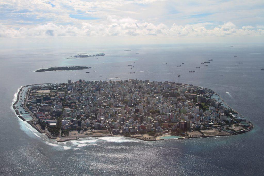 Malé, capital of Maldives