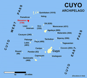 Cuyo Map