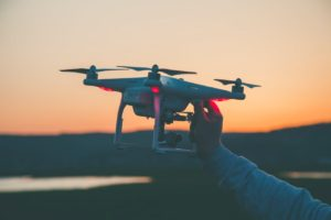 Photo of Person Holding Drone