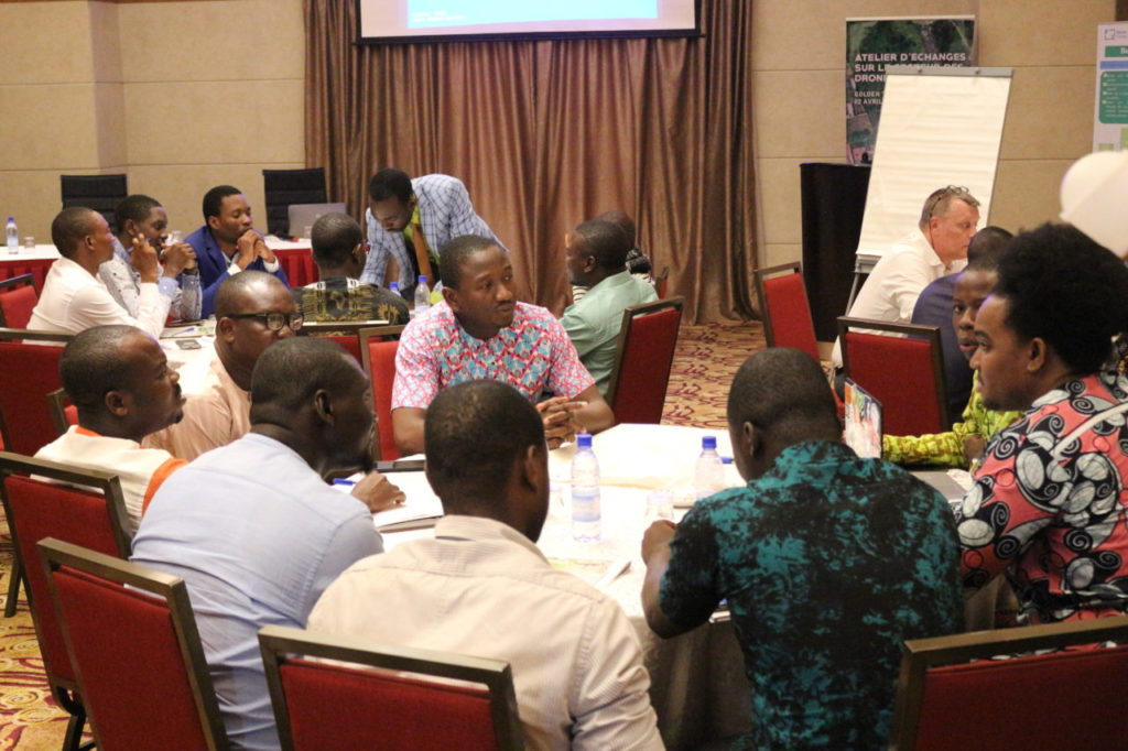 Group discussion among the Benin workshop participants
