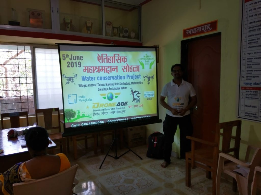 Presentation at the village government office
