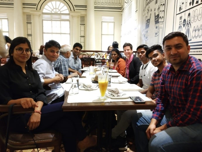 India Co-Creates: Dinner with organising team and volunteers