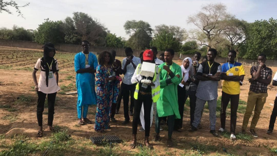 Senegal Flying Labs trained 35 Engineering Students of the Public University of Bambey