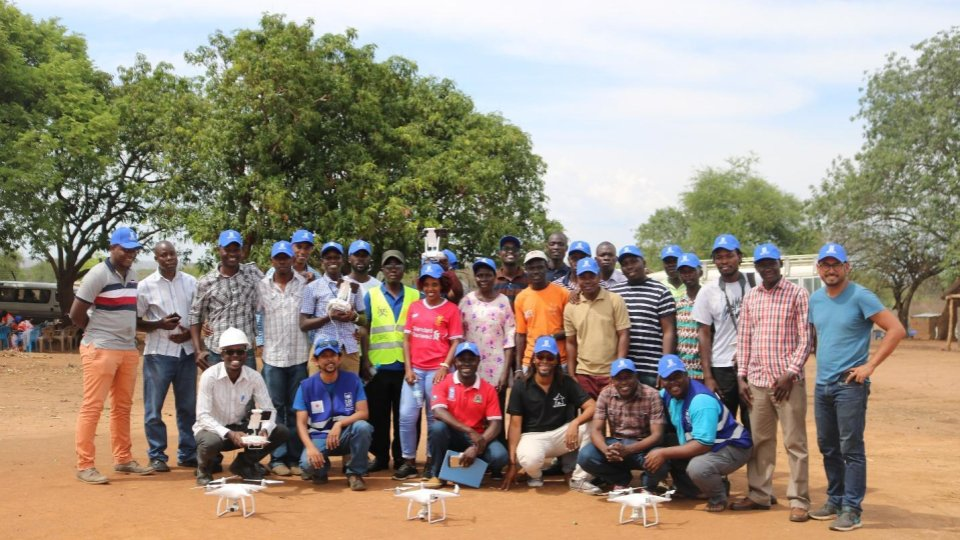 shows the Participants from OPM and KCCA with their pilots and partners