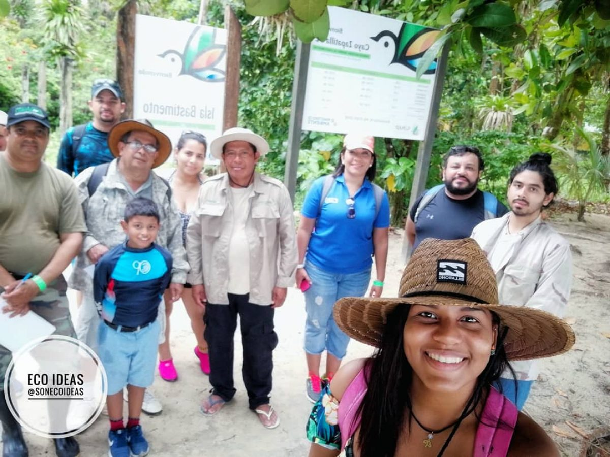 Panama Flying Labs - Mangrove Survey Team Photo