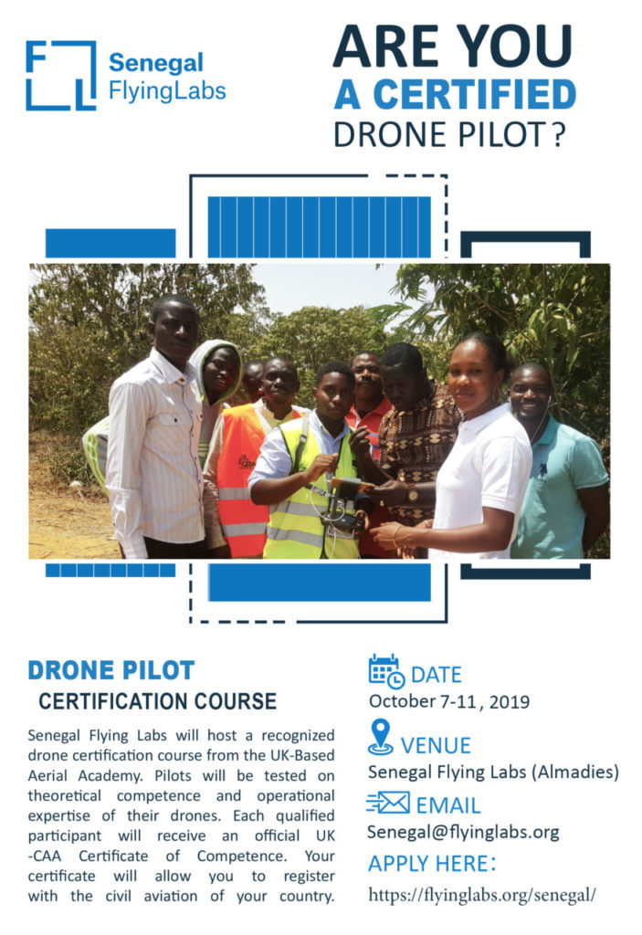 Senegal Flying Labs Drone Pilot Certification Course [EN]