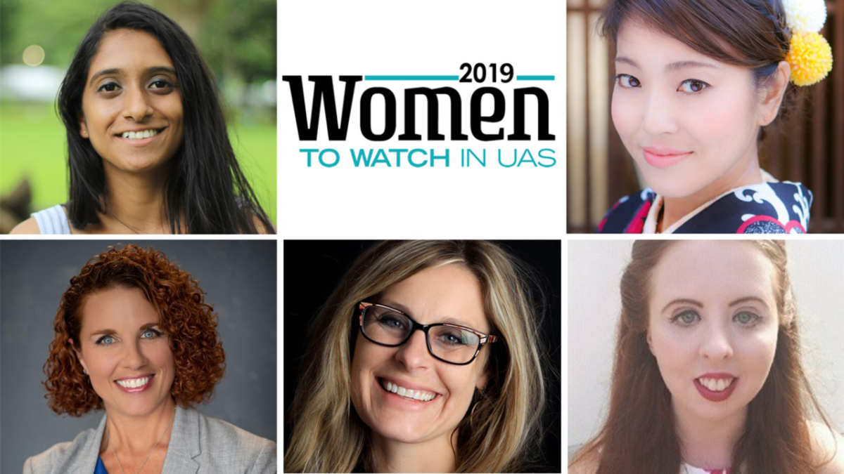2019 Women To Watch In UAS Group Image