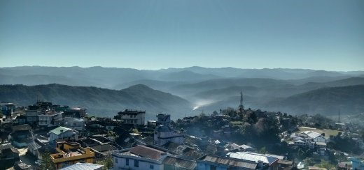 Town of Kohima. Picture by Ruchi Saxena