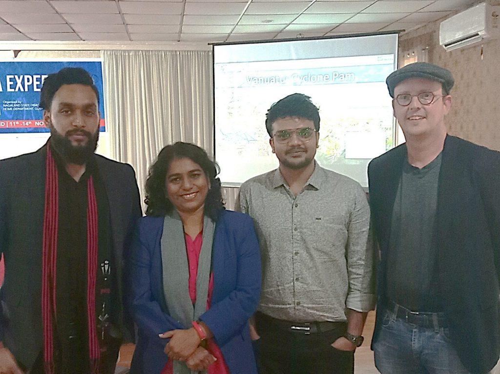 Facilitators at Nagaland Workshop: Darpan P., Ruchi S. Karthikeyan A., Patrick M.