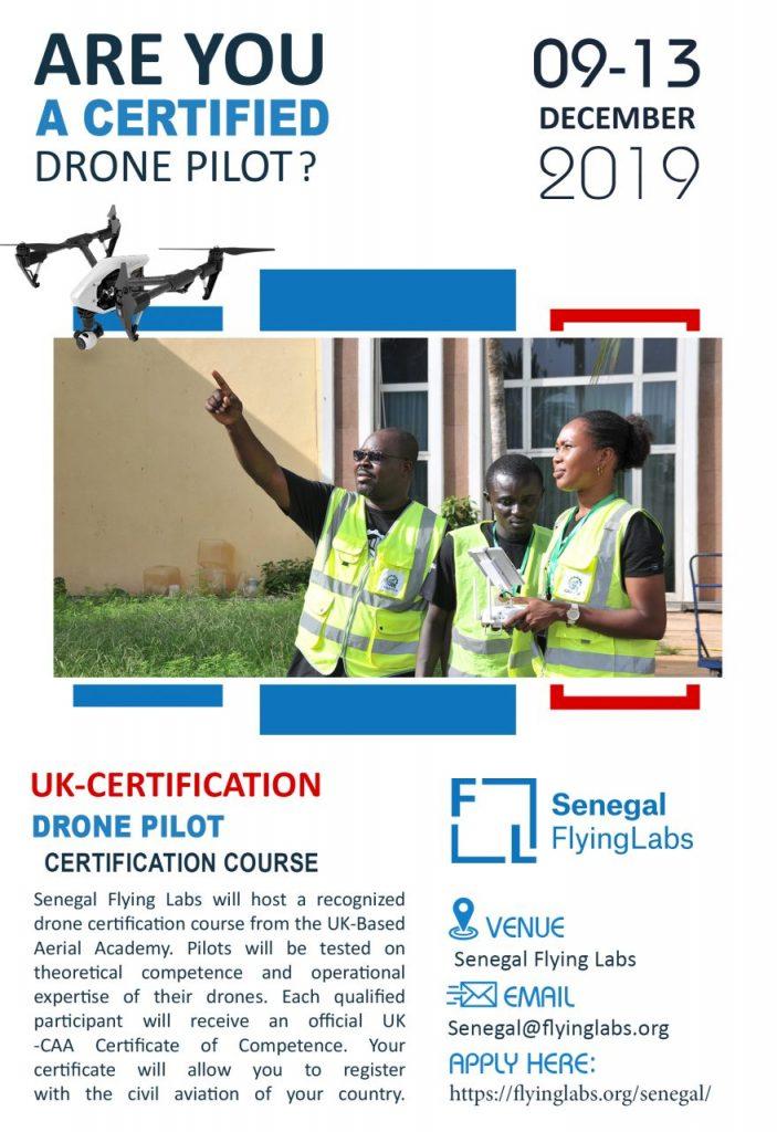 Senegal Flying Labs' Drone Pilot Certification Course - December
