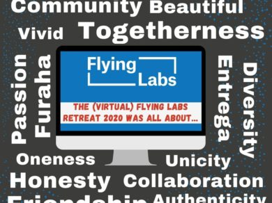 Flying Labs Retreat in One Word