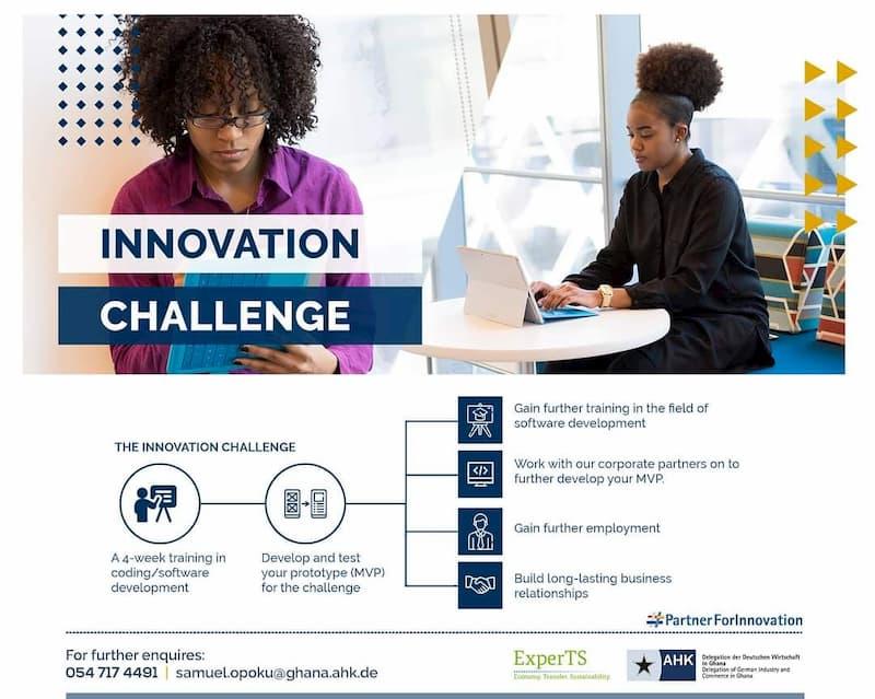 AHK Innovation Challenge - Program Flyer