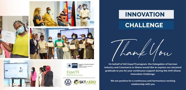 AHK Innovation Challenge - Thank You
