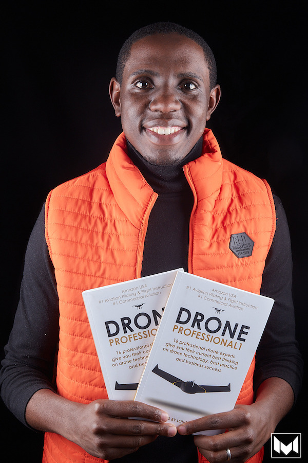 Tawanda Chihambakwe, co-author of Drone Professional 2