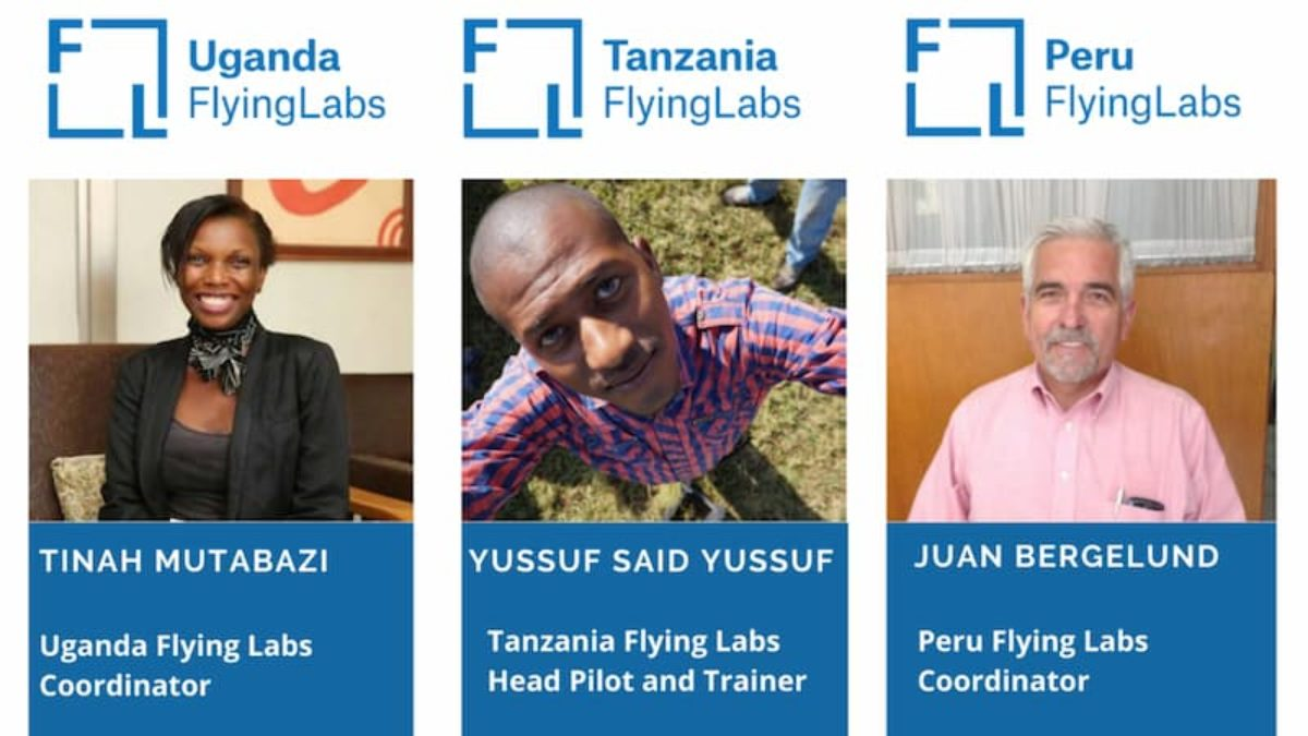 January 2021 Power of Local Webinar, featuring Uganda Flying Labs Tanzania Flying Labs Peru Flying Labs
