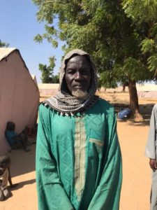 Aboubakar Mouktar climate refugee at Kai-kai refugee camp in Mayo-Danay