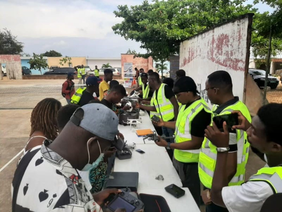 World Drone Day in Benin 2021